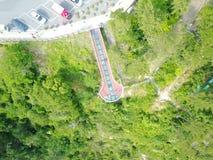 Skywalk в Пусане, Южной Корее Стоковая Фотография