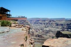 skywalk каньона грандиозное Стоковые Изображения RF