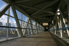 Skywalk Photographie stock