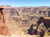skywalk каньона грандиозное Стоковое Изображение RF