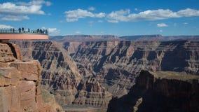 Skywalk, гранд-каньон, Аризона Стоковое Фото