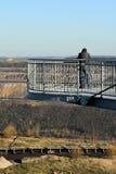 Skywalk ad estrazione a cielo aperto Fotografia Stock Libera da Diritti