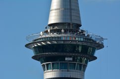 SkyWalk at the Auckland Sky Tower New Zealand Royalty Free Stock Image