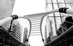 Skywalk bangkok Stock Photos