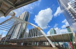 Skywalk de Chong Nonsi Photographie stock