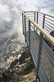 Skywalk deck Stock Image