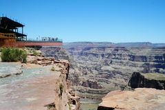Skywalk Grand Canyon Lizenzfreie Stockbilder