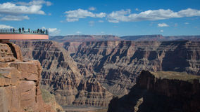 Skywalk, Grand Canyon, o Arizona foto de stock