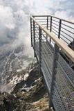 Skywalk-Plattform Stockbild