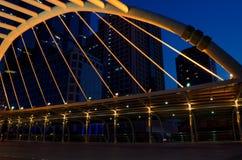 Skywalk Seitenansicht Lizenzfreie Stockfotos