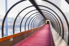Skywalk tubular Fotografía de archivo