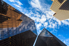 Downtown skyscrapers Stock Photography