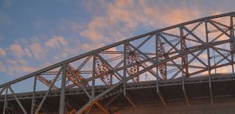 skyway的桥梁 库存照片