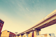 Skyway in Chicago Stock Photography
