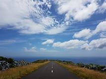 Skyway in Flores-Eiland stock foto