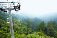 Skyway Gondola in Genting Highland Royalty Free Stock Images