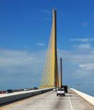 skyway solsken för bro Royaltyfri Foto