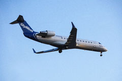 Skywest Airlines Bombardier CRJ-200LR Royalty Free Stock Images