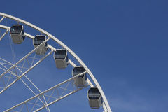 SkyWheel Ferris Wheel with Blue Sky Royalty Free Stock Photography