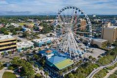 Free Skywheel Ferris Wheel Myrtle Beach SC Stock Photos - 156347933