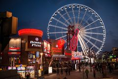 SkyWheel in Niagara Falls, Canada Stock Image