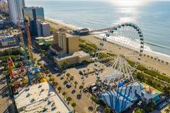 Free Skywheel SC USA Aerial Drone Photo Stock Photo - 156347940