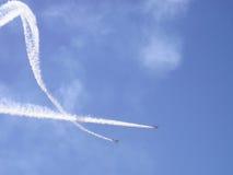 Skywriting Fotos de Stock Royalty Free