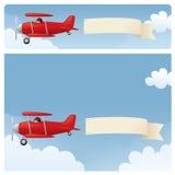 Skywriting Royalty Free Stock Image