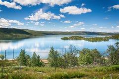 Sløddfjorden sjö, Norge Royaltyfri Bild