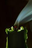 släckt stearinljus Royaltyfri Foto
