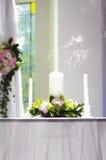 släckt stearinljus Royaltyfria Foton