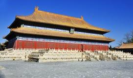 släkt- beijing imperialistiskt tempel Royaltyfria Foton