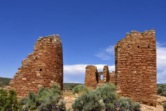 Släkt- Puebloan bosättning Arkivfoton