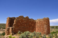 Släkt- Puebloan fördärvar Arkivbild