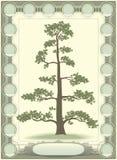 släktforskninglivstidstree royaltyfri illustrationer