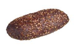 Släntra av bröd med solrosfrö Royaltyfria Bilder