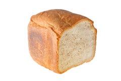 Släntra av bröd på snittet arkivbild