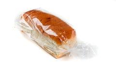Släntra av helt kornbröd i en påse Fotografering för Bildbyråer