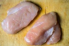 Släntra av meat Arkivfoton