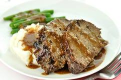släntra meat Royaltyfri Fotografi