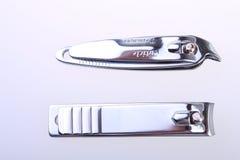 Släp spikar clippers Royaltyfria Foton