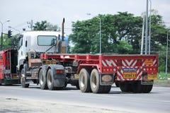 Släplastbil av Chiangmai PK transport Royaltyfri Bild