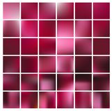 Slät abstrakt färgrik bakgrundsuppsättning - eps10 Arkivbilder