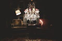Slät Chillout vardagsrum med platser Arkivfoton