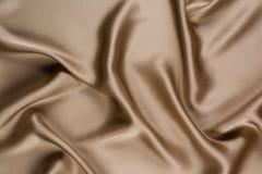 Slät elegant siden- texturabstrakt begreppbakgrund Fotografi för bästa sikt Royaltyfria Bilder