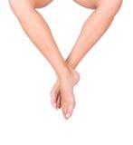 slät kvinna för ben s Royaltyfri Fotografi
