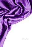 slät silk Royaltyfri Fotografi