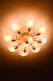 slät taklamplampa Royaltyfria Foton