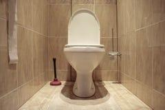 slät toalett arkivbilder
