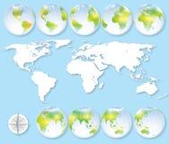 slät yttersida för abstrakt planet för jordjordningsbild Royaltyfria Bilder
